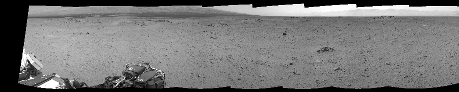 This Cylindrical Perspective image was acquired by NASA's Mars rover Curiosity on Sol 344, at drive 0, site number 10.