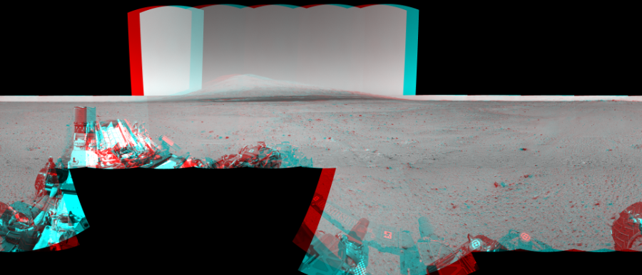 This Cylindrical Perspective image was acquired by NASA's Mars rover Curiosity on Sol 378, at drive 1132, site number 14.