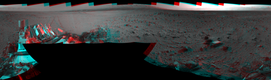 This 3D Mosaics image was acquired by NASA's Mars rover Curiosity on Sol 426, at drive 0, site number 20.