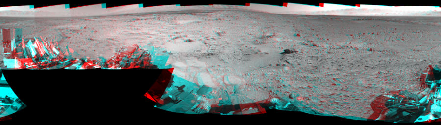This 3D Mosaics image was acquired by NASA's Mars rover Curiosity on Sol 477, at drive 366, site number 24.