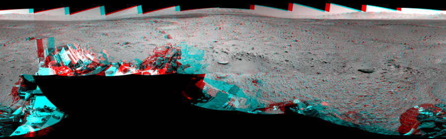 This 3D Mosaics image was acquired by NASA's Mars rover Curiosity on Sol 494, at drive 0, site number 25.