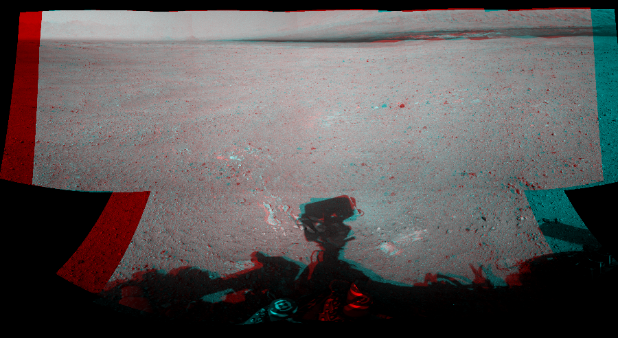 This Cylindrical Perspective image was acquired by NASA's Mars rover Curiosity on Sol 26, at drive 530, site number 3.