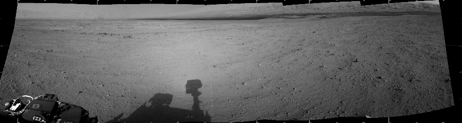 This Cylindrical image was acquired by NASA's Mars rover Curiosity on Sol 42, at drive 1632, site number 4.