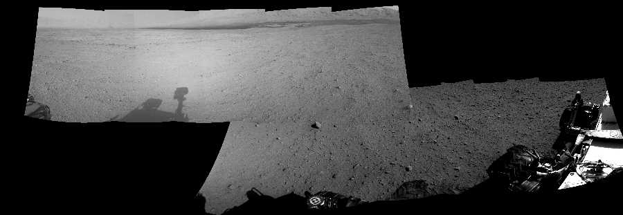 This Cylindrical Perspective image was acquired by NASA's Mars rover Curiosity on Sol 42, at drive 1632, site number 4.