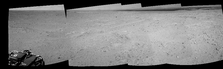 This Cylindrical Perspective image was acquired by NASA's Mars rover Curiosity on Sol 39, at drive 468, site number 4.