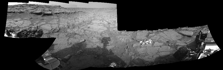 This Cylindrical Perspective image was acquired by NASA's Mars rover Curiosity on Sol 127, at drive 1576, site number 5.