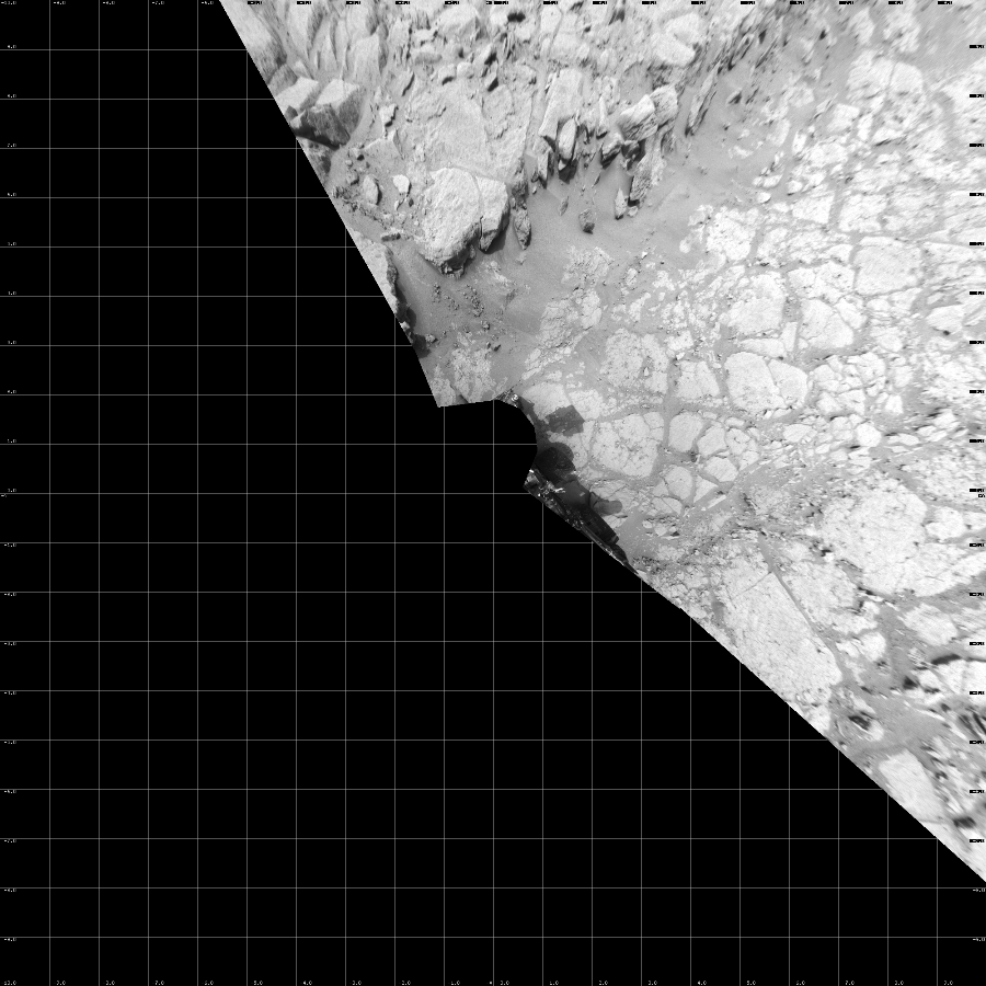 This Vertical Projection image was acquired by NASA's Mars rover Curiosity on Sol 130, at drive 1662, site number 5.