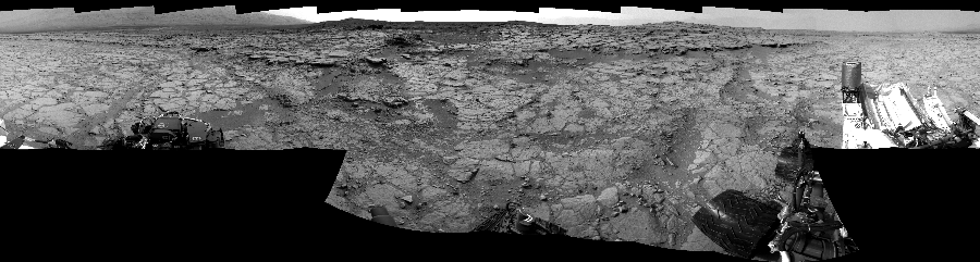 This Cylindrical Perspective image was acquired by NASA's Mars rover Curiosity on Sol 133, at drive 1858, site number 5.