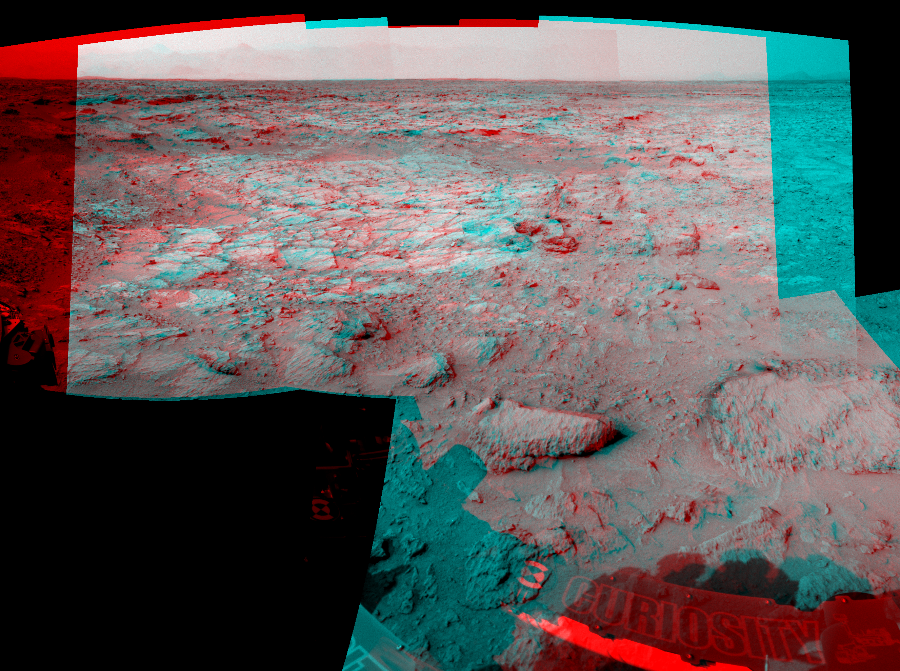 This 3D Mosaics image was acquired by NASA's Mars rover Curiosity on Sol 111, at drive 406, site number 5.
