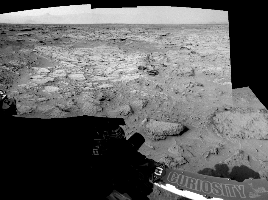 This Cylindrical Perspective image was acquired by NASA's Mars rover Curiosity on Sol 111, at drive 406, site number 5.