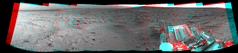This 3D Mosaics image was acquired by NASA's Mars rover Curiosity on Sol 113, at drive 432, site number 5.