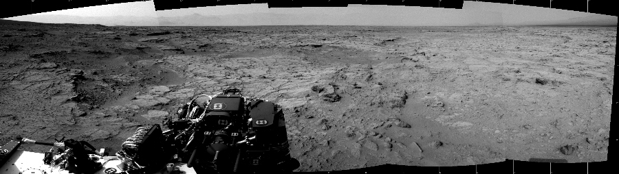 This Cylindrical image was acquired by NASA's Mars rover Curiosity on Sol 111, at drive 432, site number 5.
