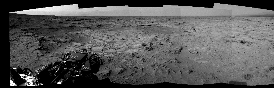 This Cylindrical Perspective image was acquired by NASA's Mars rover Curiosity on Sol 111, at drive 432, site number 5.