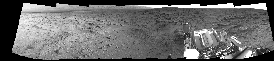 This Cylindrical Perspective image was acquired by NASA's Mars rover Curiosity on Sol 113, at drive 432, site number 5.