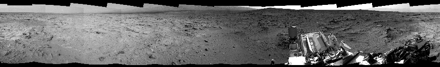 This Cylindrical Perspective image was acquired by NASA's Mars rover Curiosity on Sol 118, at drive 432, site number 5.