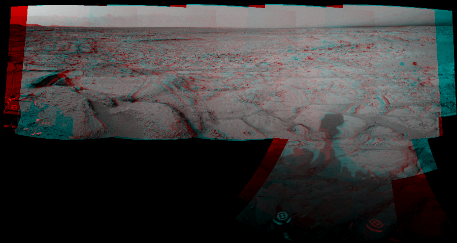 This 3D Mosaics image was acquired by NASA's Mars rover Curiosity on Sol 121, at drive 926, site number 5.