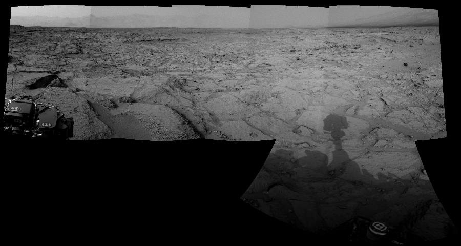 This Cylindrical Perspective image was acquired by NASA's Mars rover Curiosity on Sol 121, at drive 926, site number 5.