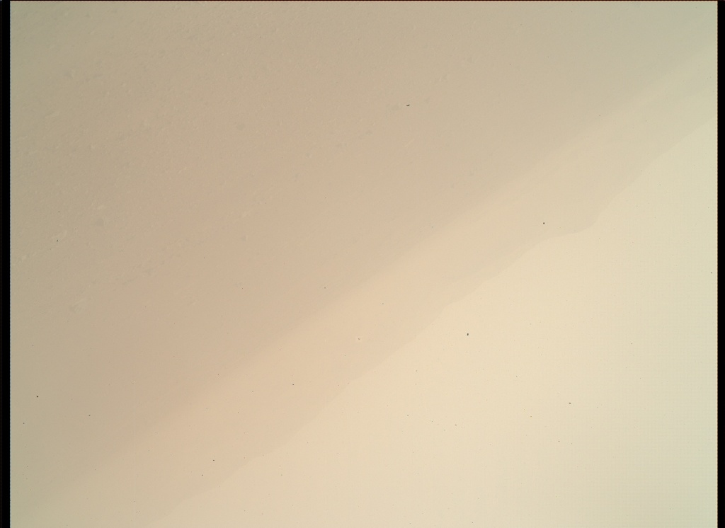NASA's Mars rover Curiosity acquired this image using its Mars Hand Lens Imager (MAHLI) on Sol 1