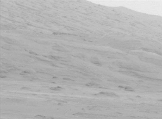 NASA's Mars rover Curiosity acquired this image using its Mast Camera (Mastcam) on Sol 13