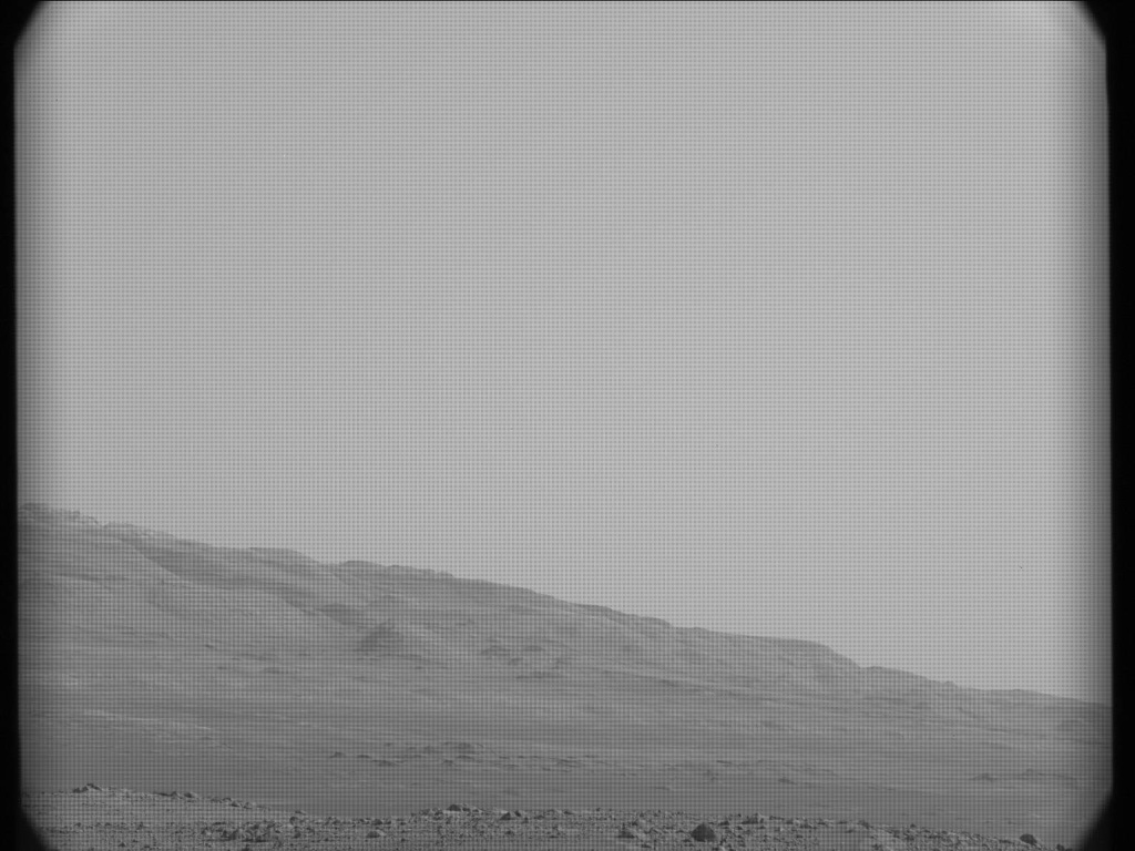 NASA's Mars rover Curiosity acquired this image using its Mast Camera (Mastcam) on Sol 17