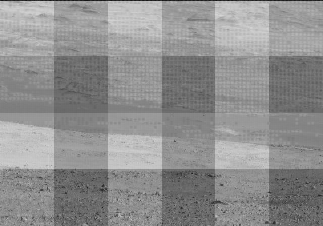 NASA's Mars rover Curiosity acquired this image using its Mast Camera (Mastcam) on Sol 19