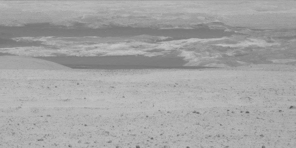 NASA's Mars rover Curiosity acquired this image using its Mast Camera (Mastcam) on Sol 25