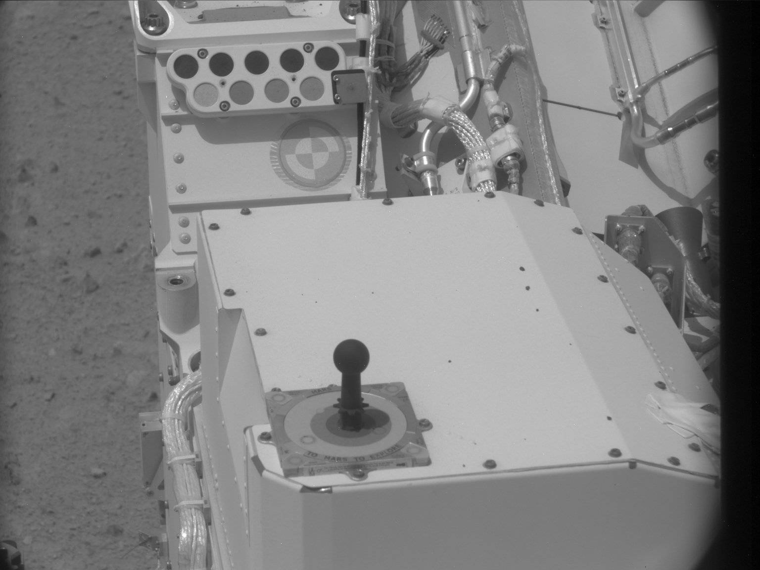 Nasa's Mars rover Curiosity acquired this image using its Mast Camera (Mastcam) on Sol 30