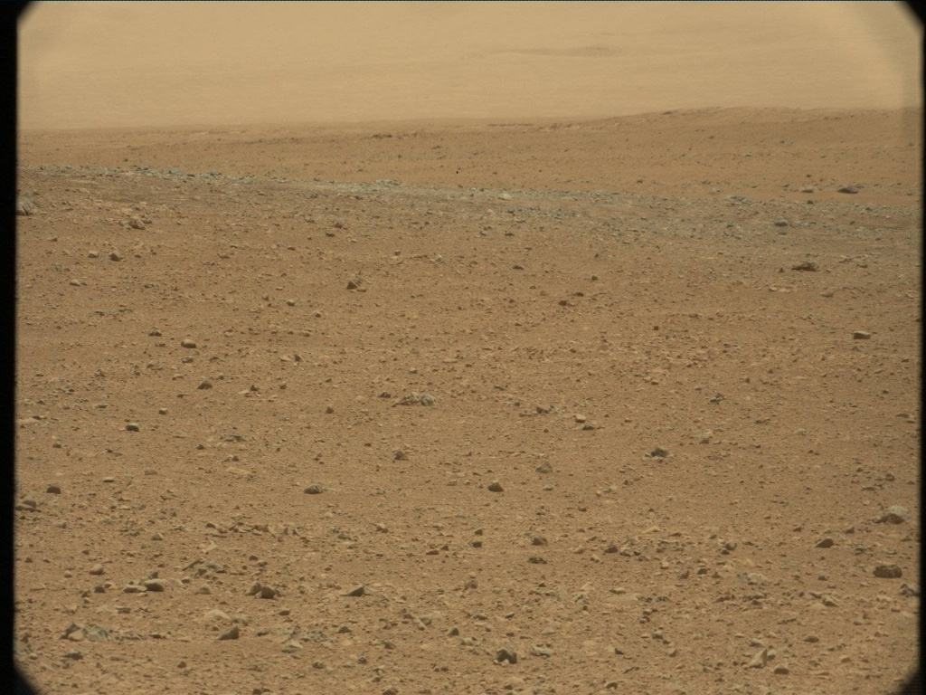 NASA's Mars rover Curiosity acquired this image using its Mast Camera (Mastcam) on Sol 33