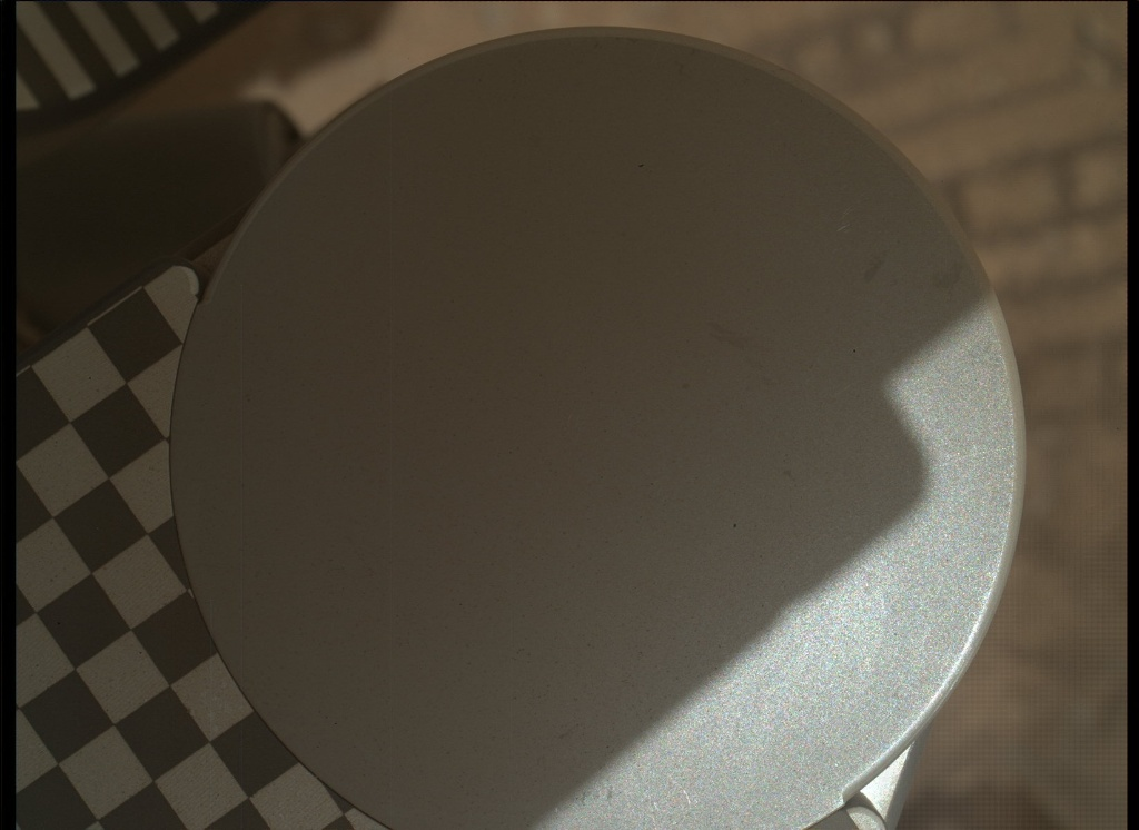 NASA's Mars rover Curiosity acquired this image using its Mars Hand Lens Imager (MAHLI) on Sol 37