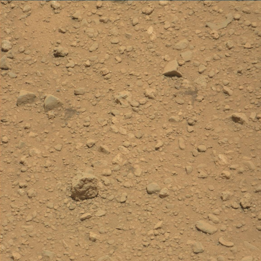 NASA's Mars rover Curiosity acquired this image using its Mast Camera (Mastcam) on Sol 39