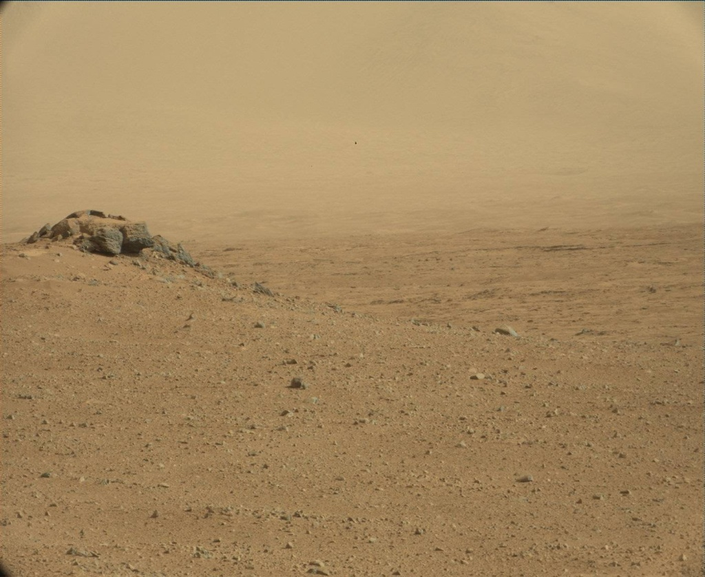 NASA's Mars rover Curiosity acquired this image using its Mast Camera (Mastcam) on Sol 44