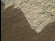 NASA's Mars rover Curiosity acquired this image using its Mars Hand Lens Imager (MAHLI) on Sol 46