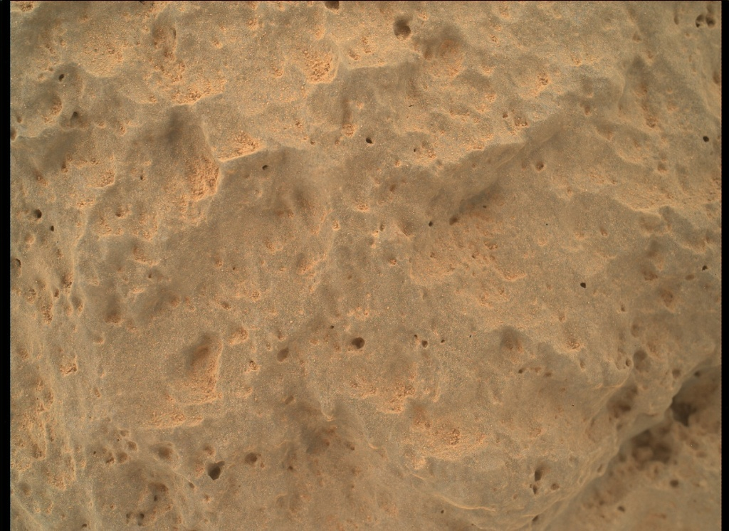 NASA's Mars rover Curiosity acquired this image using its Mars Hand Lens Imager (MAHLI) on Sol 47