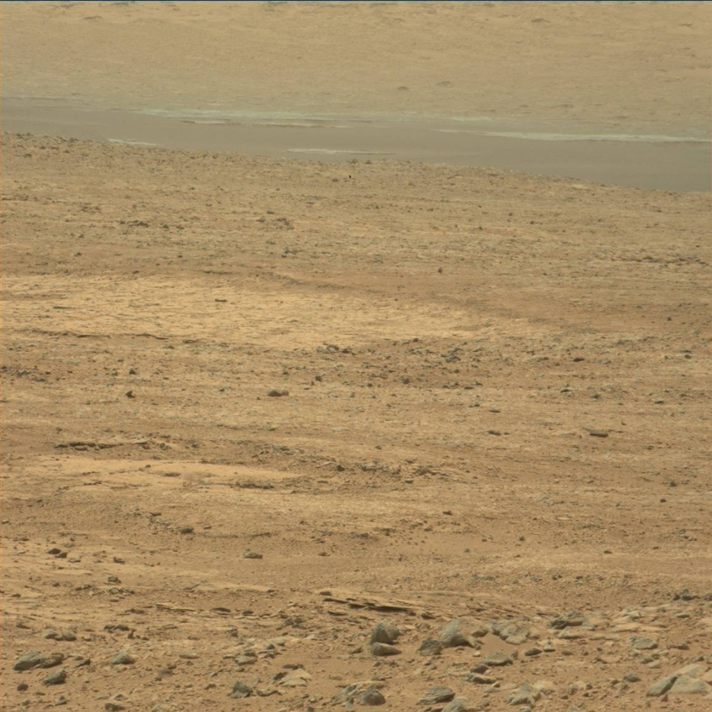 NASA's Mars rover Curiosity acquired this image using its Mast Camera (Mastcam) on Sol 49