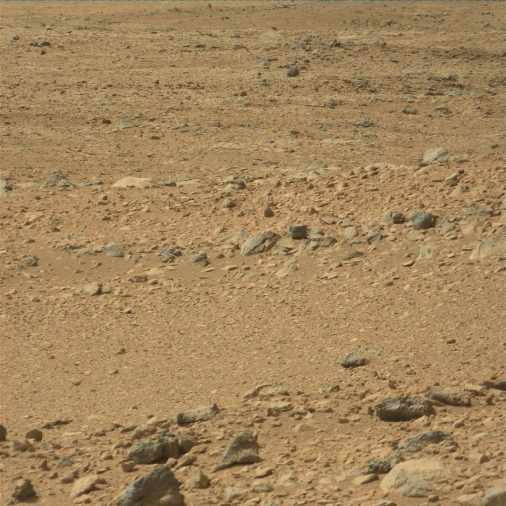 NASA's Mars rover Curiosity acquired this image using its Mast Camera (Mastcam) on Sol 54