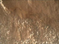 NASA's Mars rover Curiosity acquired this image using its Mars Hand Lens Imager (MAHLI) on Sol 58