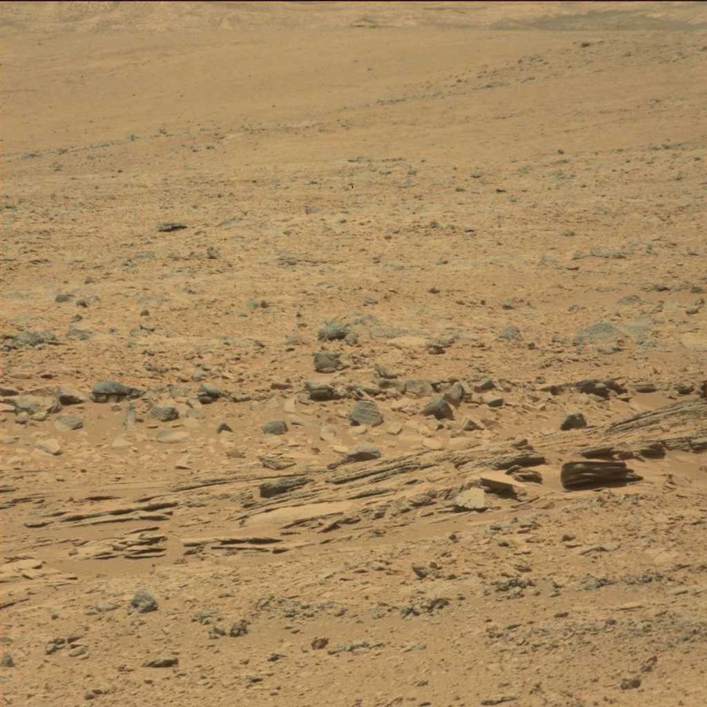 NASA's Mars rover Curiosity acquired this image using its Mast Camera (Mastcam) on Sol 60