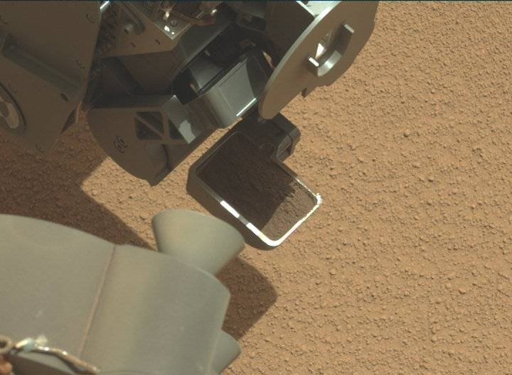 NASA's Mars rover Curiosity acquired this image using its Mast Camera (Mastcam) on Sol 61