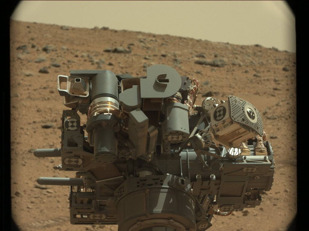 NASA's Mars rover Curiosity acquired this image using its Mast Camera (Mastcam) on Sol 65