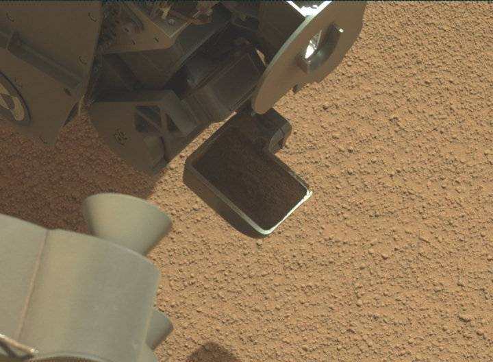 NASA's Mars rover Curiosity acquired this image using its Mast Camera (Mastcam) on Sol 66