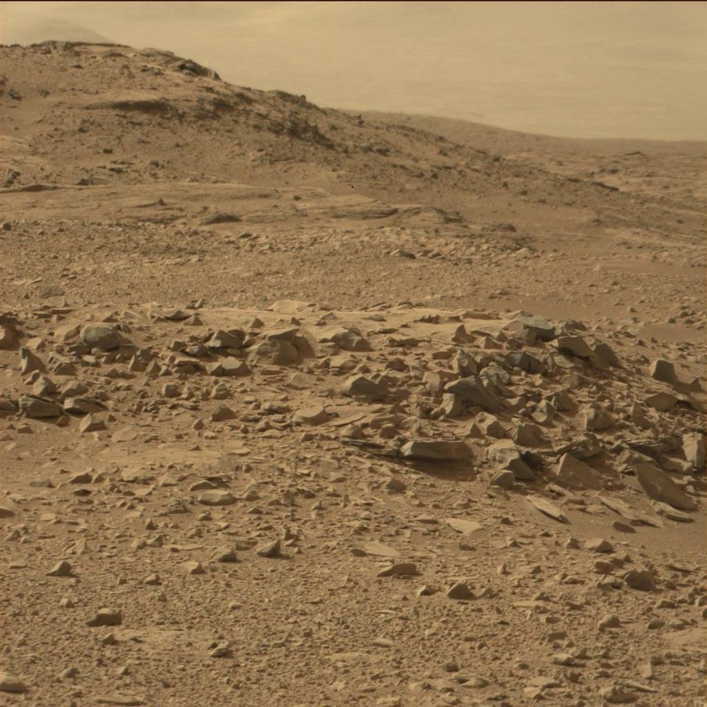 NASA's Mars rover Curiosity acquired this image using its Mast Camera (Mastcam) on Sol 67