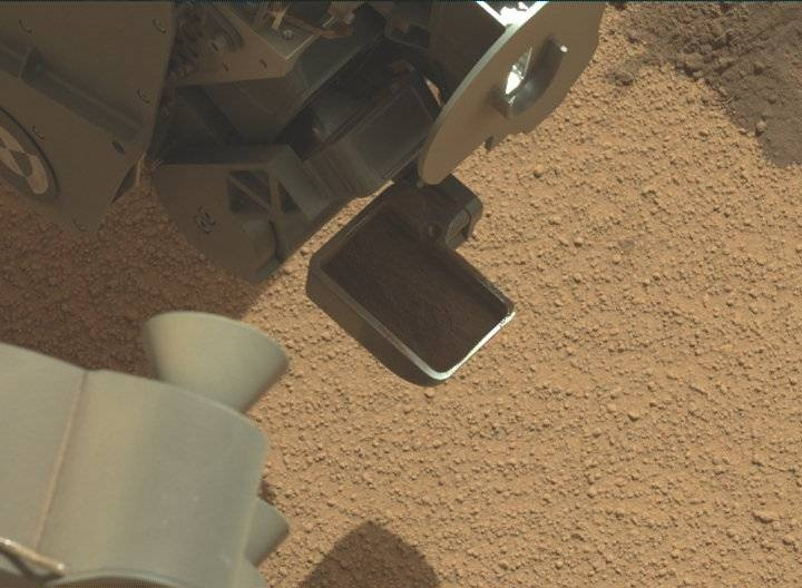NASA's Mars rover Curiosity acquired this image using its Mast Camera (Mastcam) on Sol 69