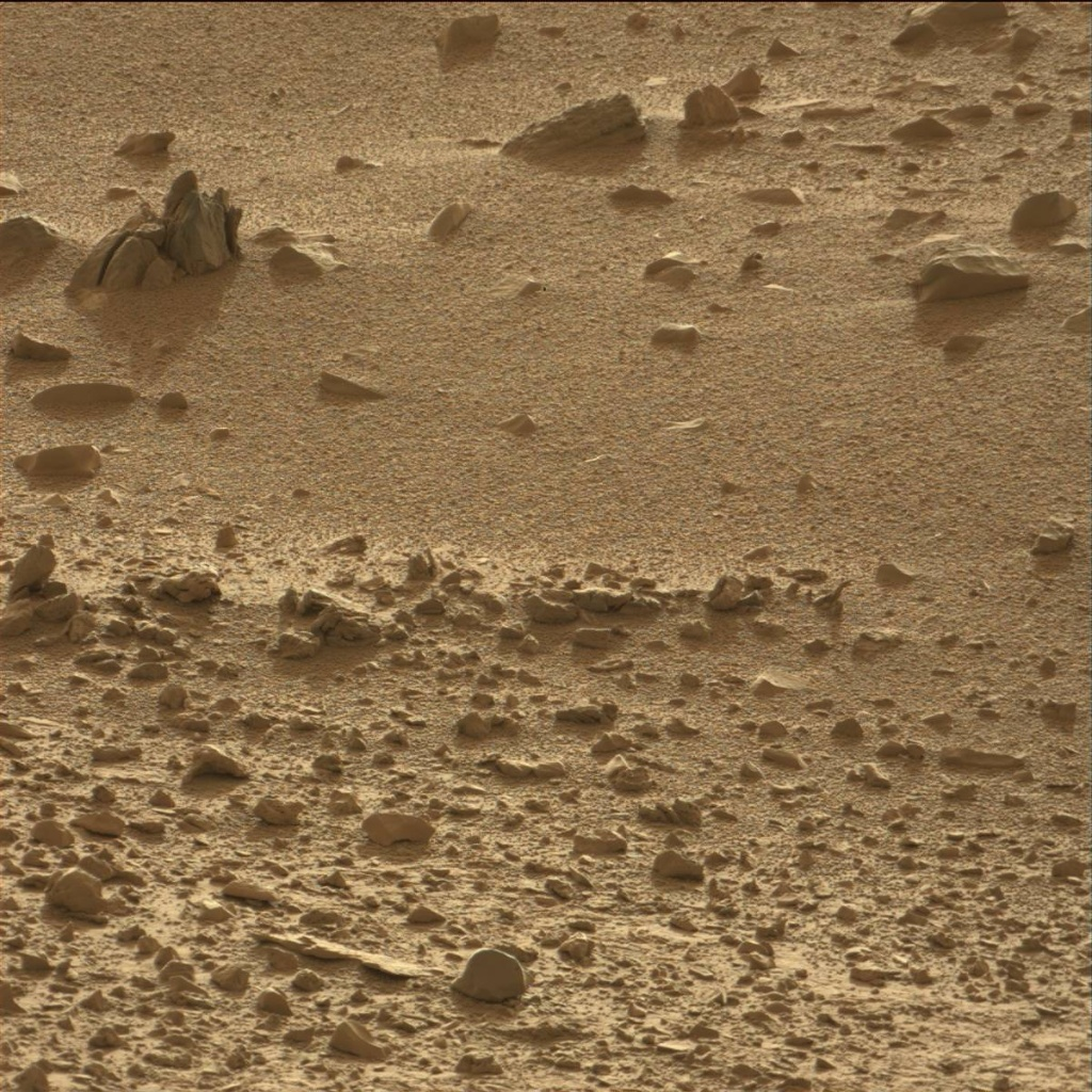 NASA's Mars rover Curiosity acquired this image using its Mast Camera (Mastcam) on Sol 70