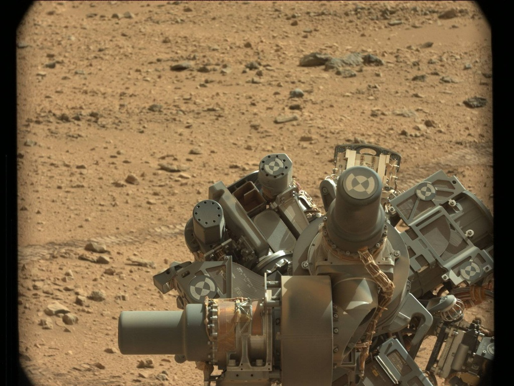 NASA's Mars rover Curiosity acquired this image using its Mast Camera (Mastcam) on Sol 73