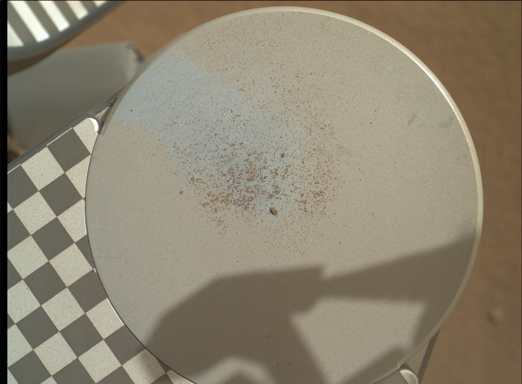 NASA's Mars rover Curiosity acquired this image using its Mars Hand Lens Imager (MAHLI) on Sol 73