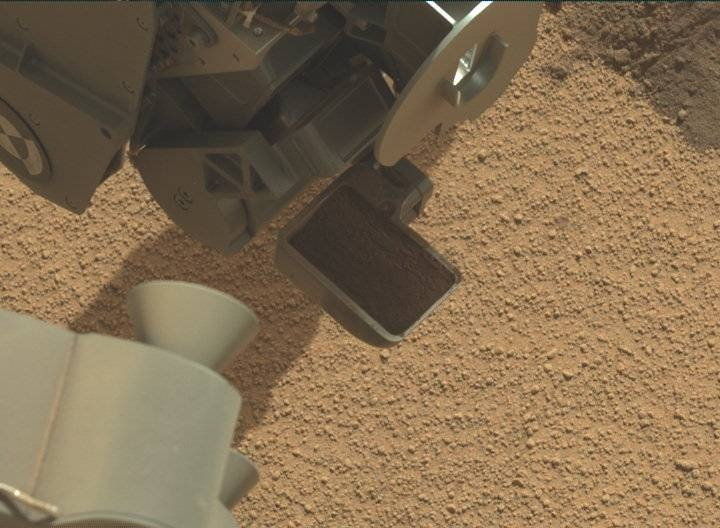 NASA's Mars rover Curiosity acquired this image using its Mast Camera (Mastcam) on Sol 74