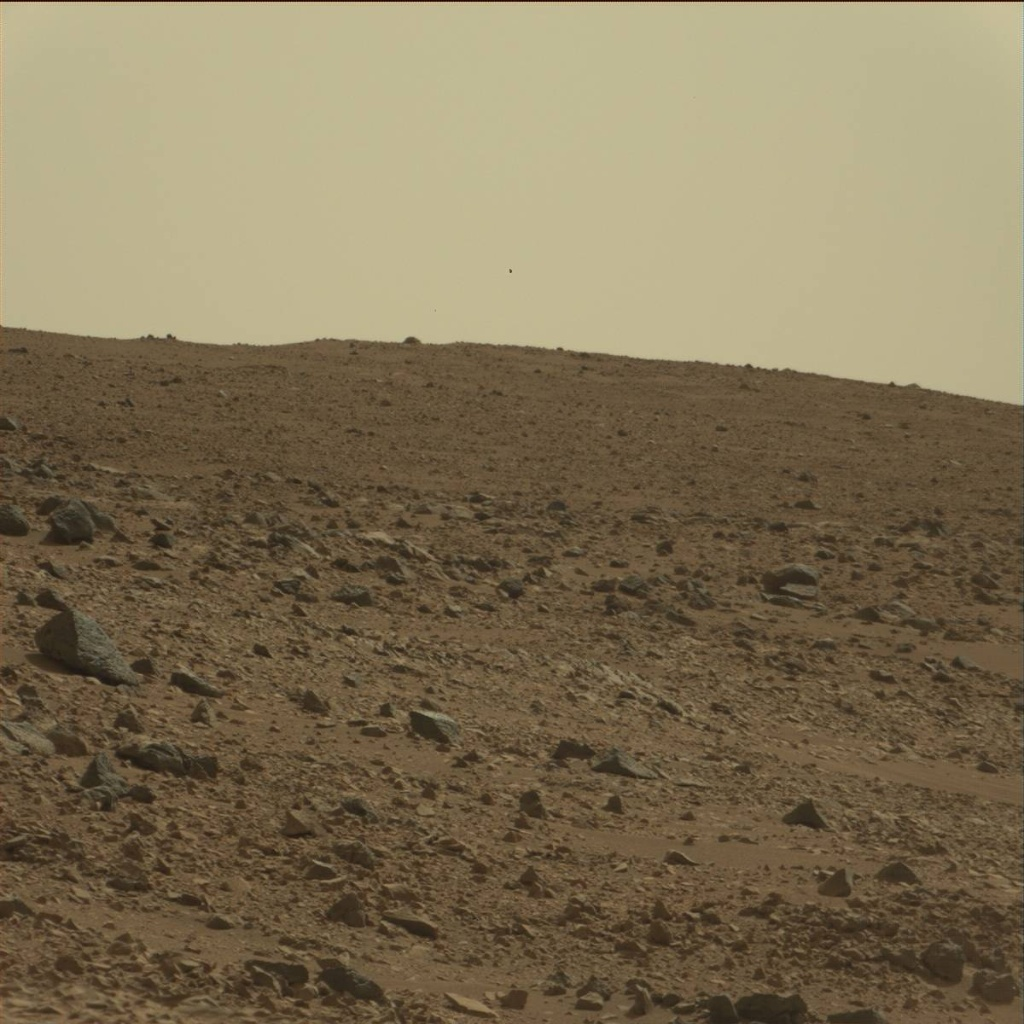 NASA's Mars rover Curiosity acquired this image using its Mast Camera (Mastcam) on Sol 75