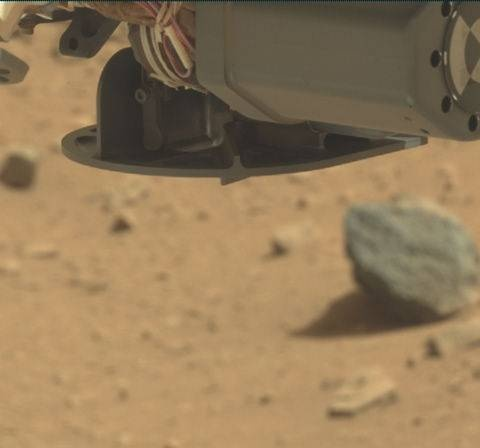 NASA's Mars rover Curiosity acquired this image using its Mast Camera (Mastcam) on Sol 78
