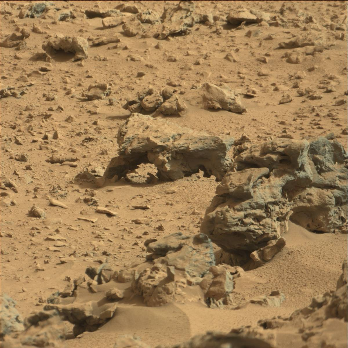 The Gothic Ruins of Mars: Ancient Ruins seen on Mars Rover ...