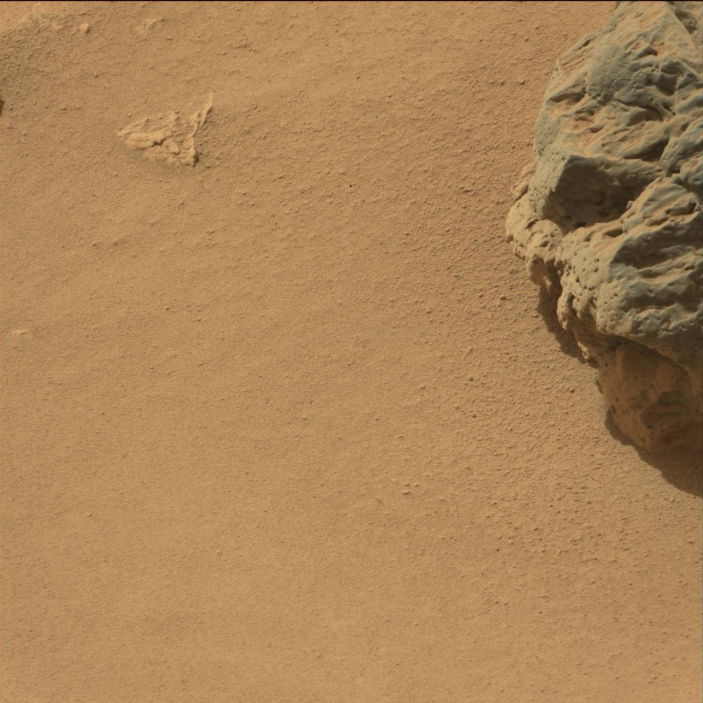 NASA's Mars rover Curiosity acquired this image using its Mast Camera (Mastcam) on Sol 79